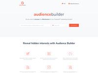 Homepage audiencebuilder