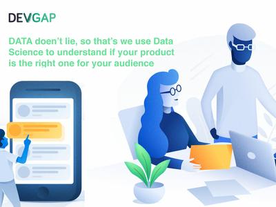Data Driven Design devgap ecommerce saas data analytics productdesign uxui datadesign