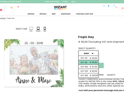 UX Improvments - Product page - Ecommerce uisketch ux magento clean design front end design