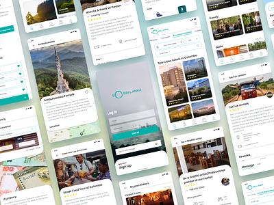 So Sri Lanaka - Online Travel Management Platform sri lanka srilanka tourism travel branding user experience user experience design uxdesign uiux ui ux app