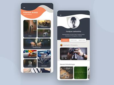 Workshop management app concept mobile app design mobile ui mobile app app design userinterface workshop android app design app uxdesign ux uiux ui