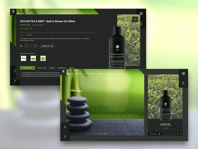 Spa Ceylon web design spa website design website webdesign uidesign design uiux uxdesign ux ui