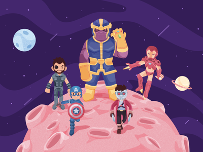 Infinity War super hero infinity war space marvel character illustration