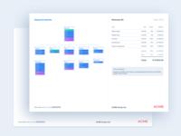 PDF Estimate file quote invoice interface pdf file estimate prototyping sitemap