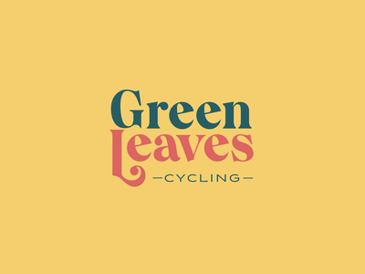Green Leaves alternative typographic direction exploration typography type branding brand logo
