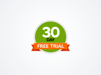 Free Trial — graphic element for website