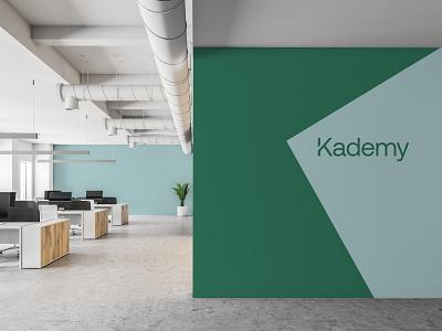 Kademy Interior environment design interior branding logo