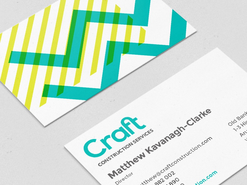 Craft Business Card by Bryan Kidd - Dribbble