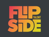FlipSide logo LF ligature