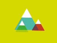 Mountains Illustration / Icon