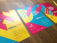 Talent 2018 posters