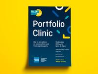 Poster Talent Fest 2019 Portfolio clinic
