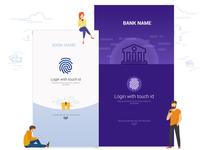 Bank App - Login Page