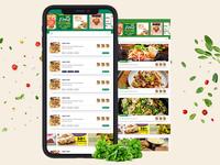 Food List Page