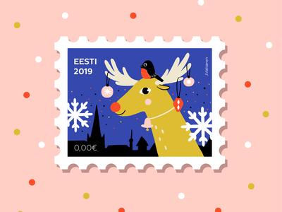 Рostage stamp
