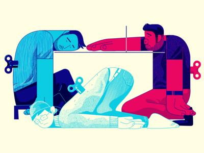 Tiring meetings