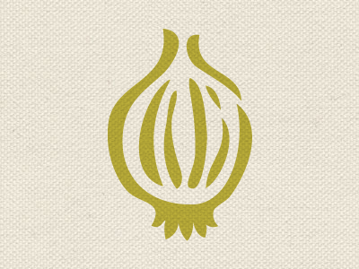Don't cry education food branding mark icon onion nonprofit