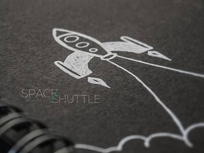 Sketch sketch spaceshuttle space rocket ship