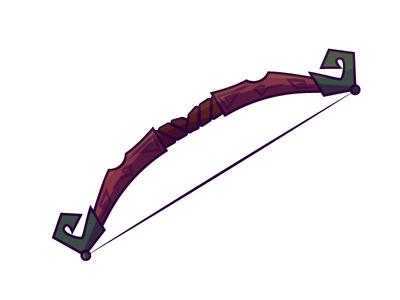 Mahogany Recurve Bow