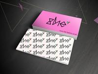 She Business Card Design