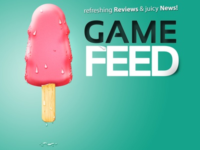 Game Feed logo design logo game feed ice lolly lolly ice cream game logo