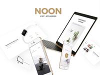 Noon ui kit app landing