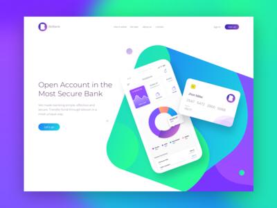Bitbank Landing Page
