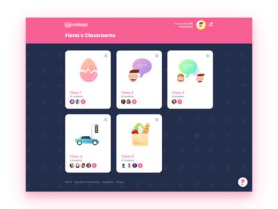 Learning Webapp for Kids