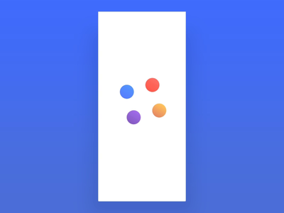 EasyCloud App Freebie | XD Auto-animate