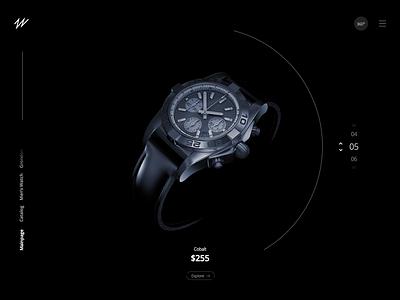Watch Store Concept - Freebie branding kit vector wrist watch animation freebie design icon ux illustration app template free mockup website flat web clean ui
