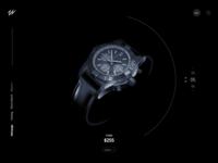 Watch Store Concept - Freebie