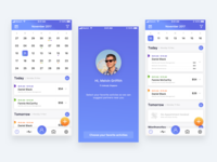Active - Schedule Management App Concept