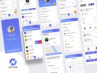 Active - Schedule Management App Concept - Shot 2