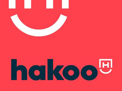 Hakoo   Visual Identity security logo security blockchain illustration visual identity typography design logo branding identity graphic  design