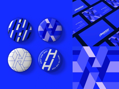 HawkenIO   Visual Identity business cards pattern art pattern illustration visual identity typography design logo branding identity graphic  design