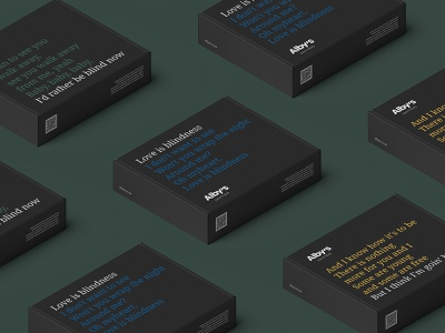 Alby's   Visual Identity boxes shutters packaging illustration visual identity typography design logo branding identity graphic  design