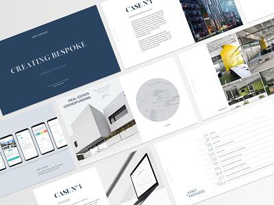 Veret + Partners   Pitch Deck Design presentation design pitch deck design pitch deck pitchdeck design typography graphic  design