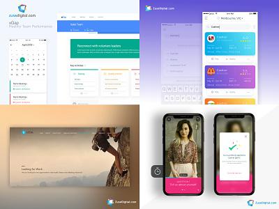 Top 2018 shots marketplace gig economy dashboard sports mobile app portfolio website design app