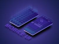 UI/UX design interface mobile