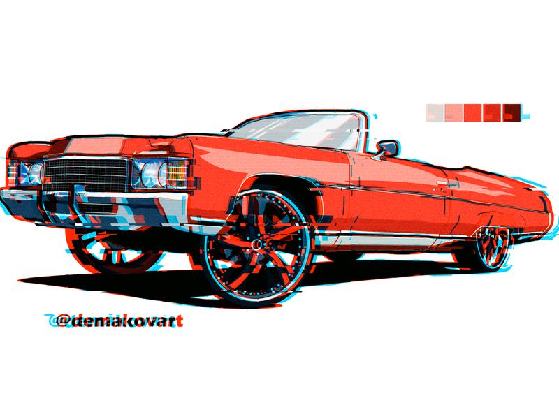 chevrole lowrider low design vector illustration glitch wheel 26s 29s 30s big cars car arizona gangster nigga gang chevrolet bigwheel bigrims