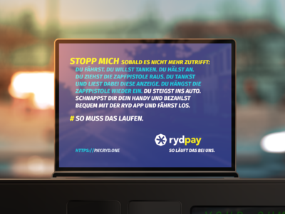 ryd Gas Station Campaign