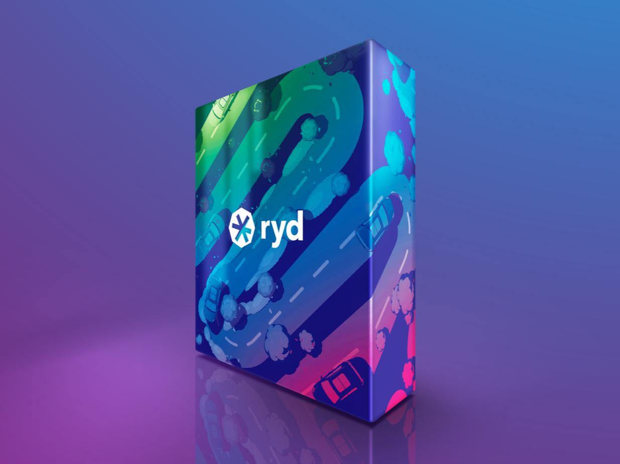ryd Packaging print design vector art package design illustration