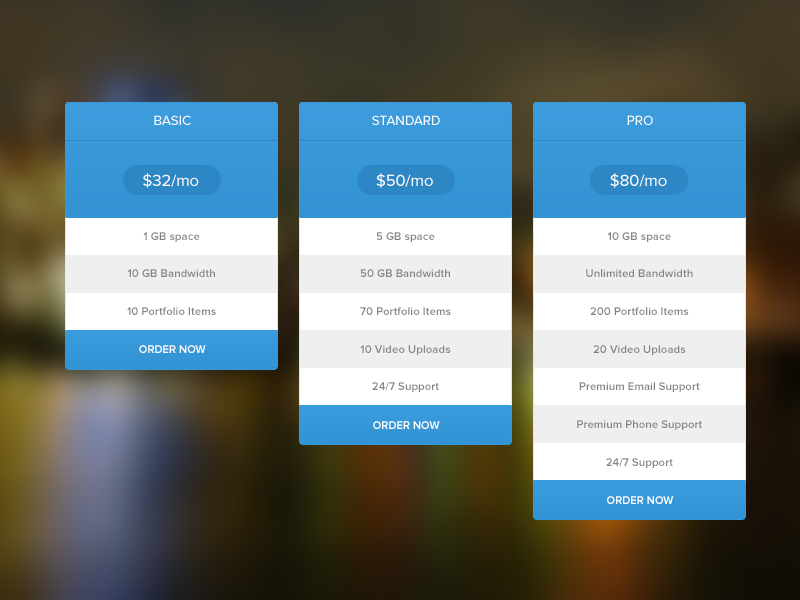 pricing table free psd by masum rana dribbble