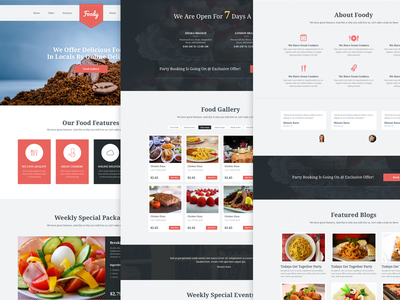 Foody Home Page