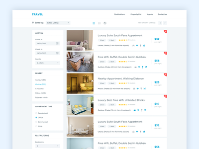 Classifieds for Travel Website apartment search real estate travel website people search classified listing listing home search travel classifieds