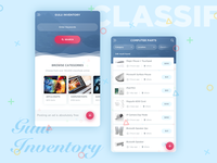 Gulu Inventory - Classified App Design
