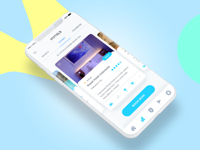 Hotel Booking App uxart.io ux design mobile app accommodation app hotel app ticket system booking app classified hotel booking