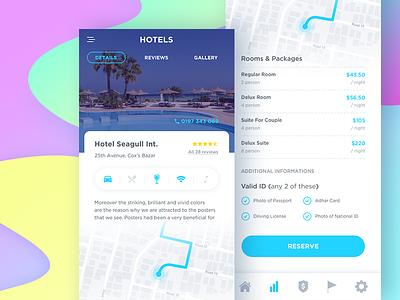 Booking App Details uxart.io ux design mobile app accommodation app hotel app ticket system booking app classified hotel booking