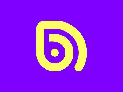 D Music features monoline monogram logo latter mark latter logo vector flat branding logo design logo icon design