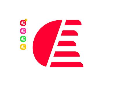 E Abstract design abstract e letter logo e letter e 2020 design latter mark latter logo vector flat branding logo design logo icon design